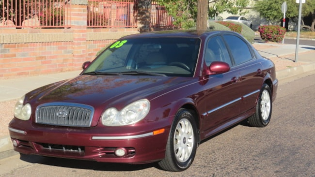 Used 2003 Hyundai Sonata LX Sedan For Sale Phoenix AZ