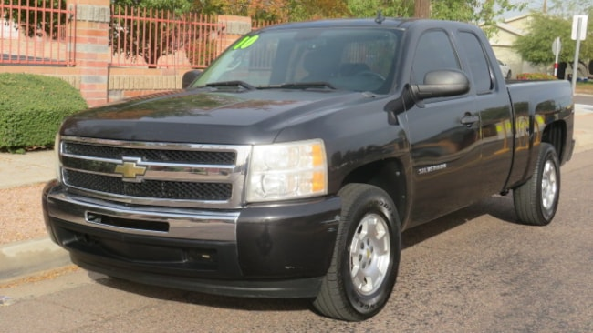 Used 2010 Chevrolet Silverado 1500 LT Truck Extended Cab For Sale Phoenix AZ