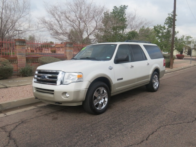 Used 2008 Ford Expedition EL King Ranch SUV For Sale Phoenix AZ