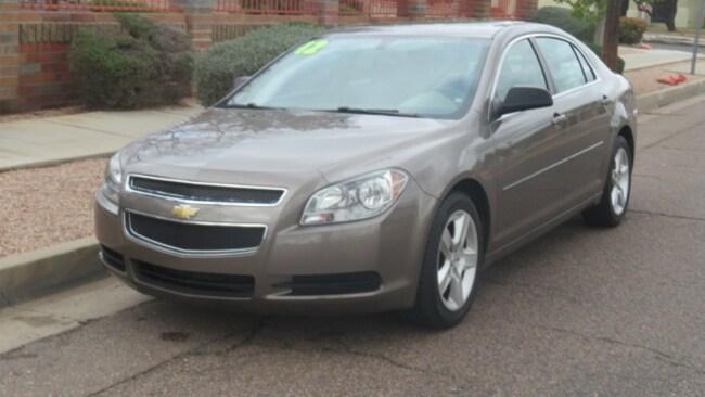 Used 2012 Chevrolet Malibu 1LS Sedan For Sale Phoenix AZ
