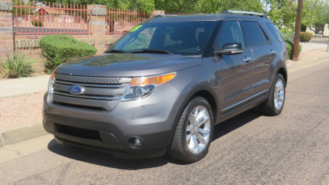 Used 2013 Ford Explorer Limited SUV For Sale Phoenix AZ