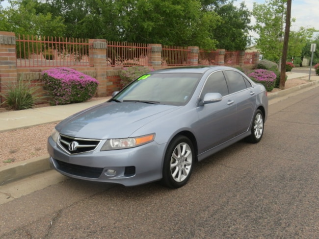 Used 2008 Acura TSX Base Sedan For Sale Phoenix AZ