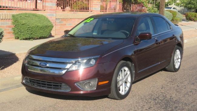 Used 2012 Ford Fusion SEL Sedan For Sale Phoenix AZ
