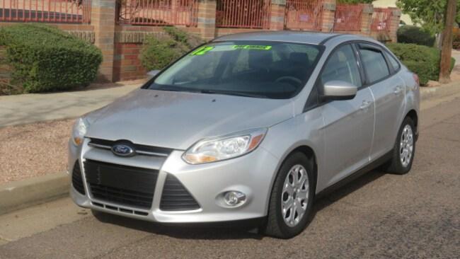 Used 2012 Ford Focus SE Sedan For Sale Phoenix AZ