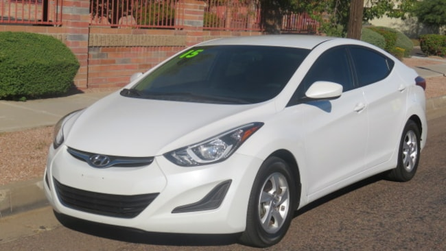 Used 2015 Hyundai Elantra SE Sedan For Sale Phoenix AZ
