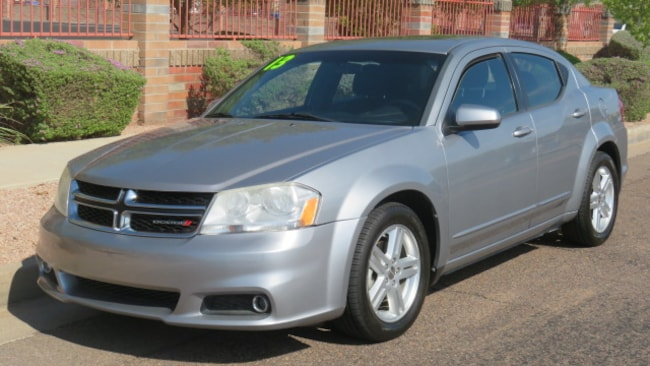 Used 2013 Dodge Avenger SXT Sedan For Sale Phoenix AZ