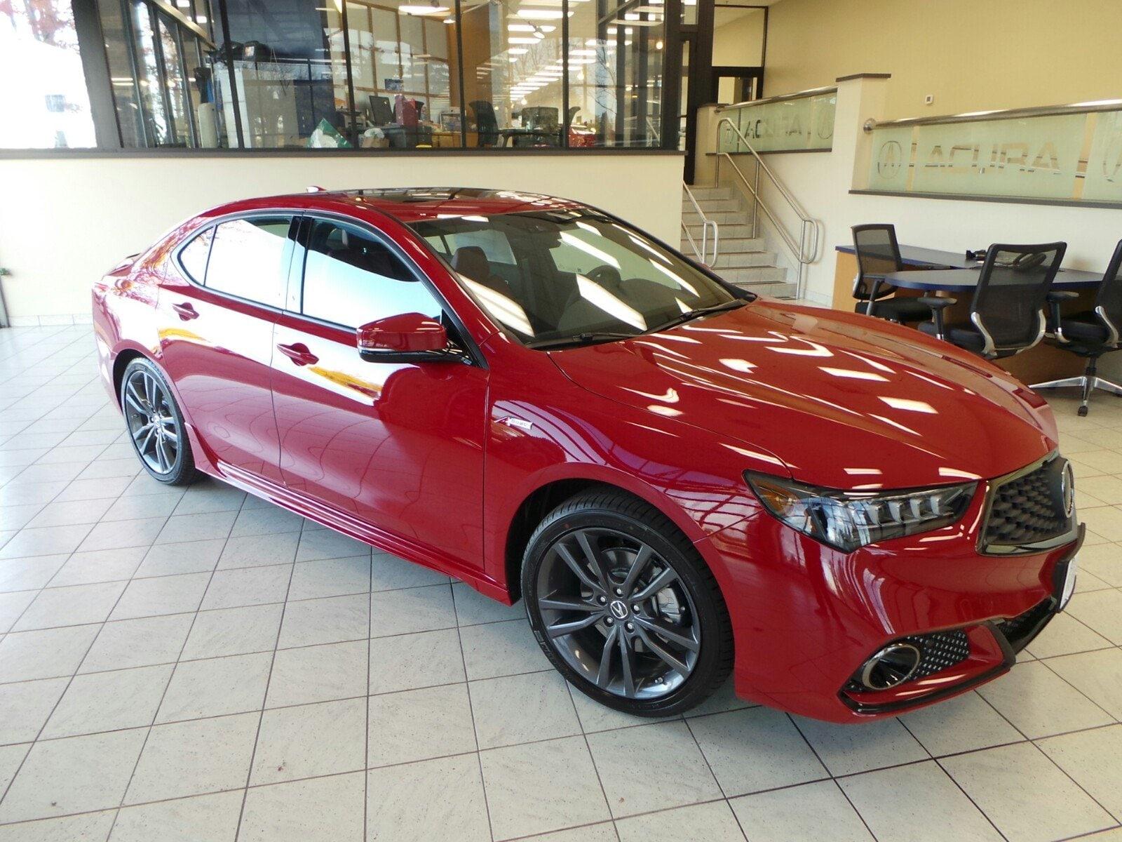 2019 Acura TLX 2.4L Tech & A-Spec Pkgs w/Red Leather Sedan