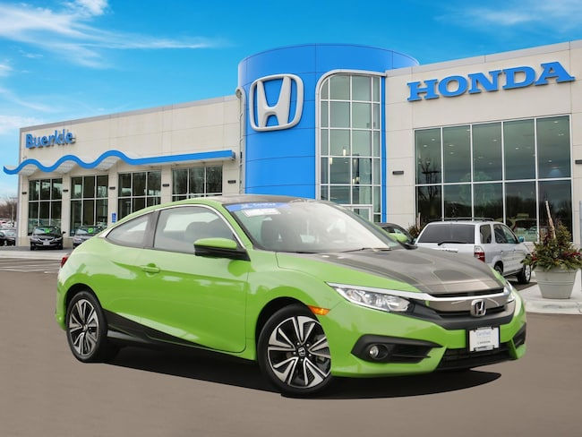 Certified Used 2017 Honda Civic EX-T Coupe For Sale Near Minneapolis
