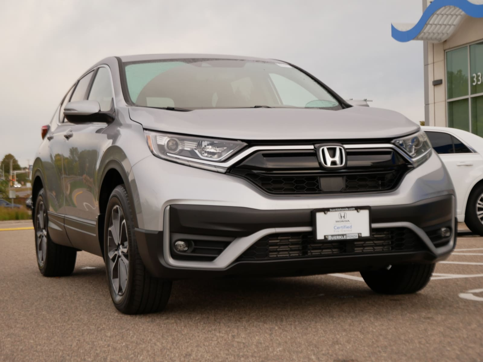 Certified 2020 Honda CR-V EX-L with VIN 2HKRW2H81LH607642 for sale in Saint Paul, Minnesota