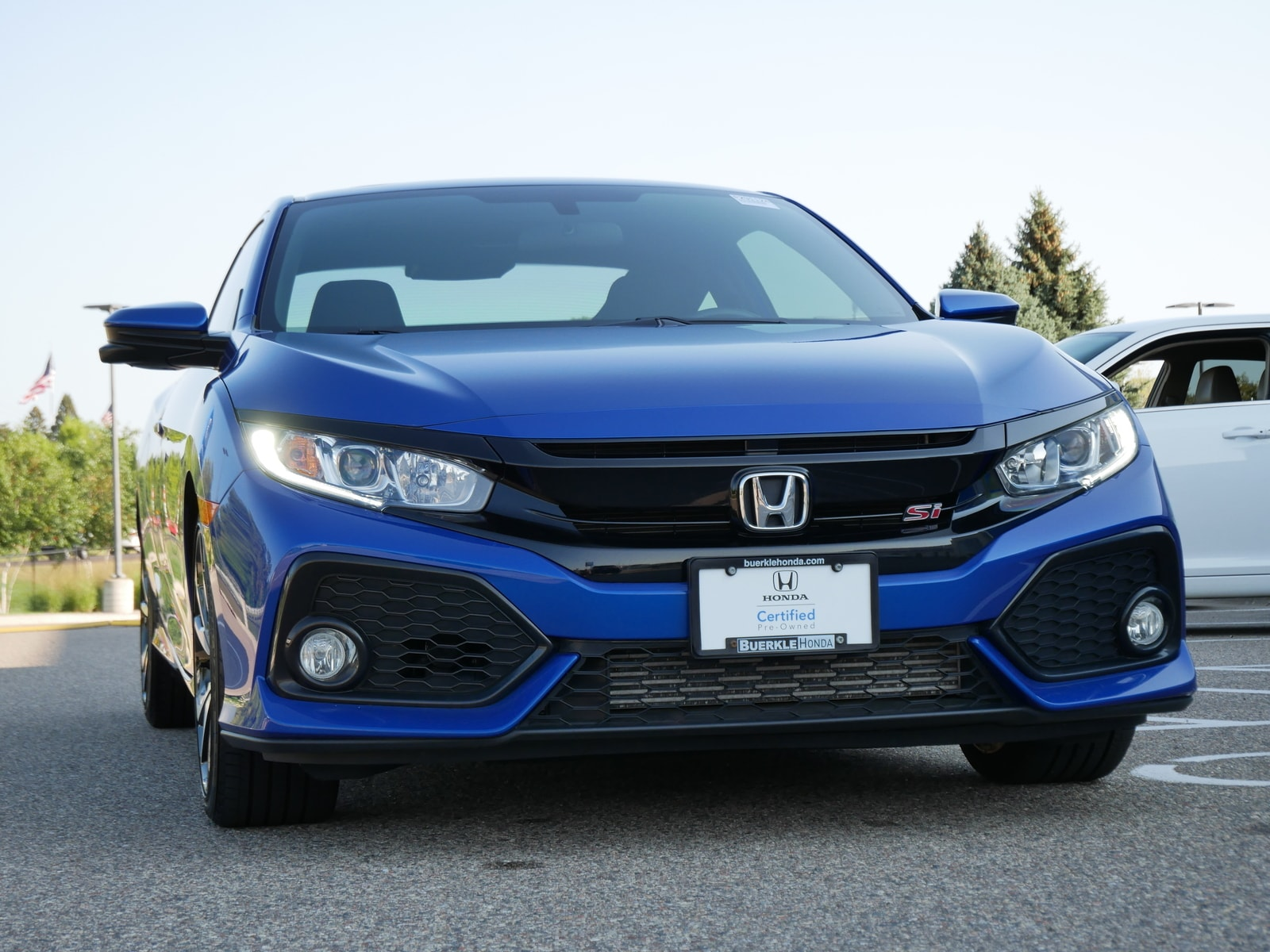 Certified 2019 Honda Civic Si with VIN 2HGFC3A50KH752827 for sale in Saint Paul, Minnesota