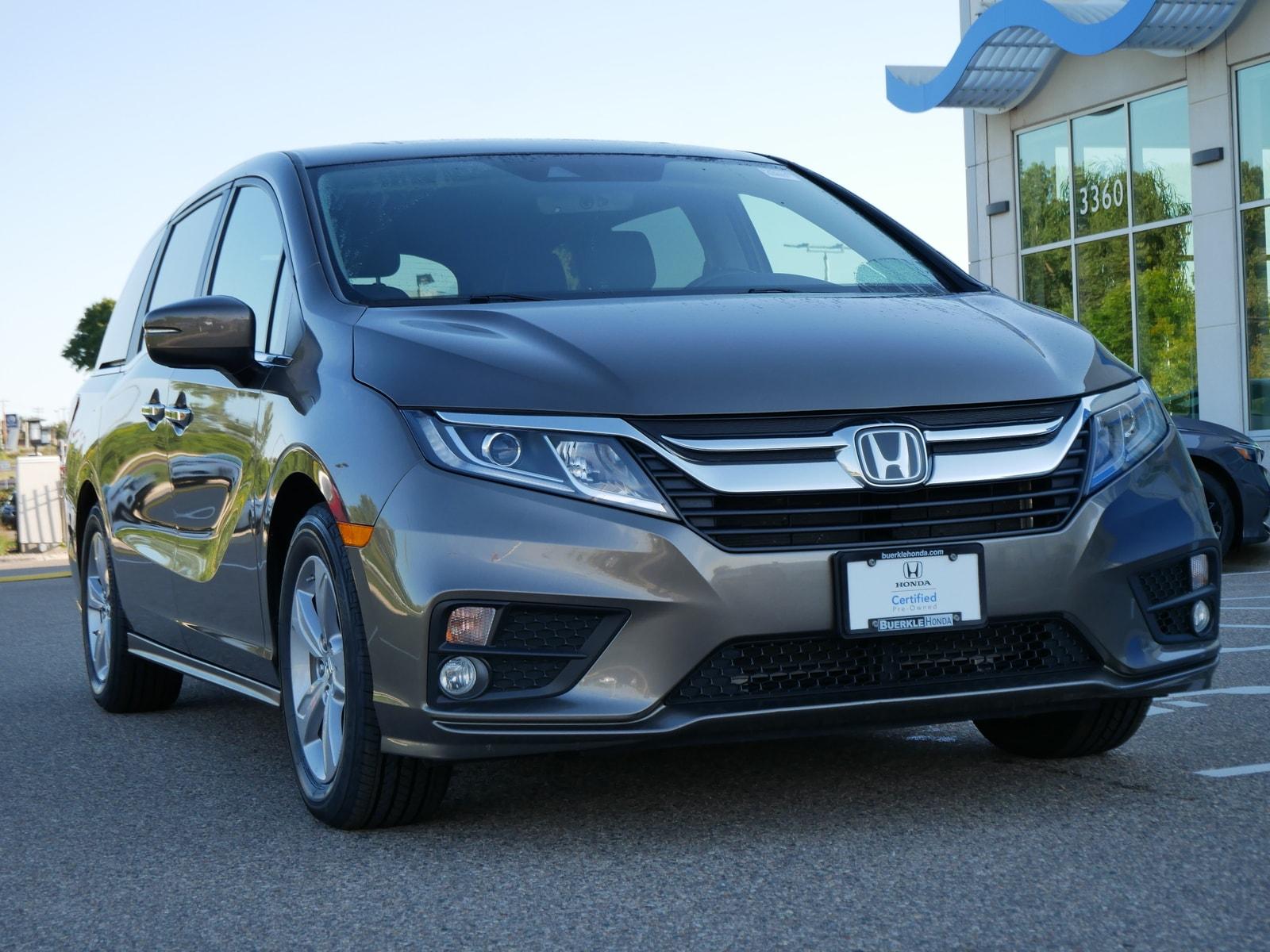 Certified 2019 Honda Odyssey EX-L with VIN 5FNRL6H77KB039661 for sale in Saint Paul, Minnesota