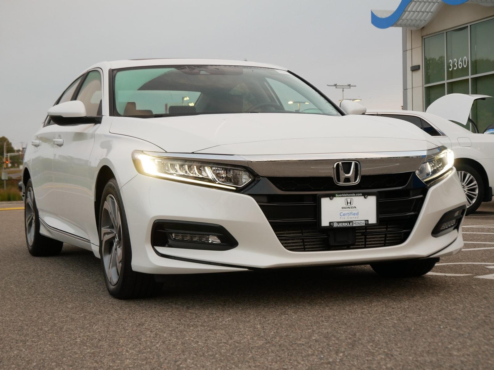 Certified 2019 Honda Accord EX-L with VIN 1HGCV2F50KA017814 for sale in Saint Paul, Minnesota