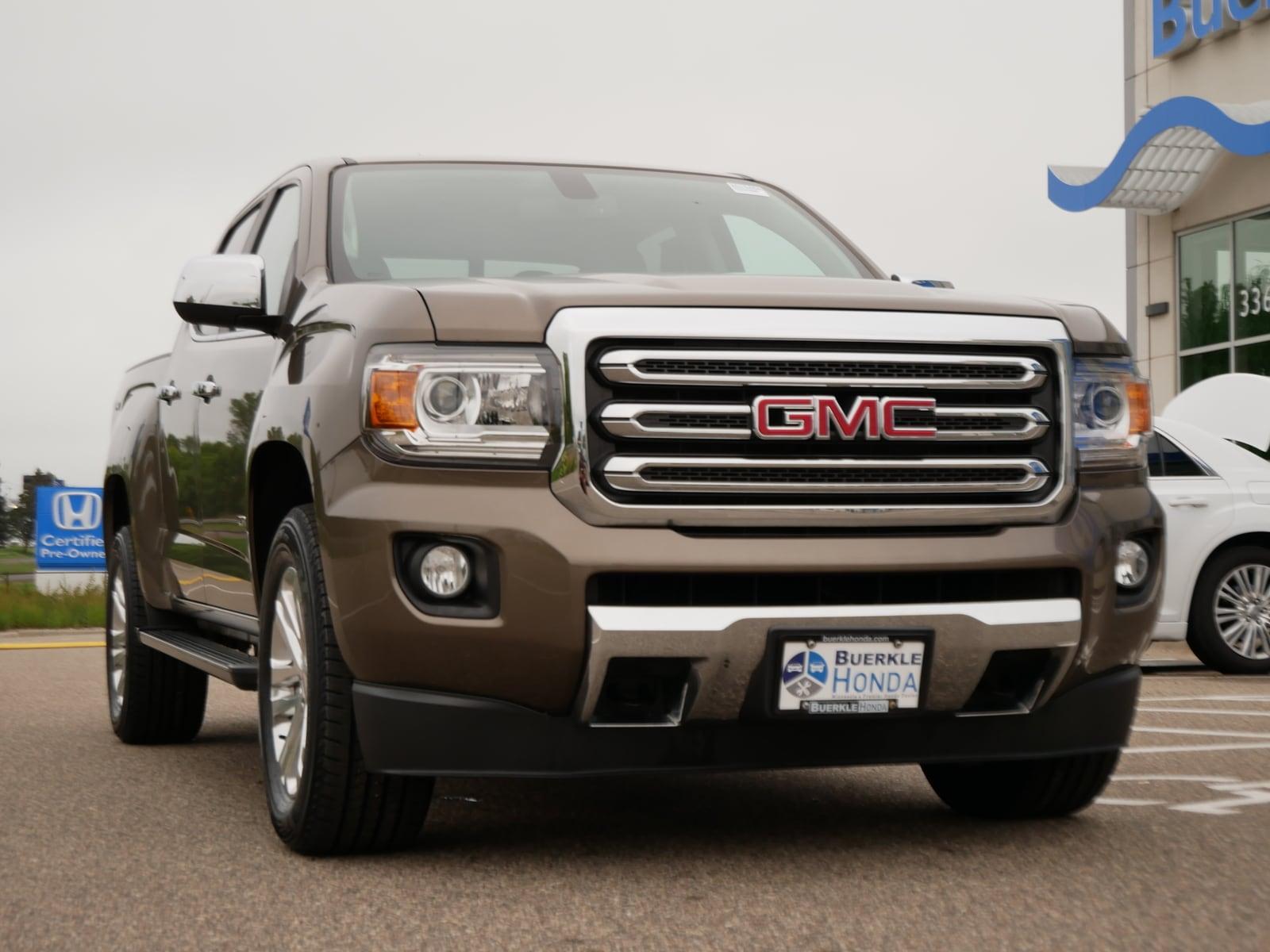 Used 2016 GMC Canyon SLT with VIN 1GTG6DE31G1314591 for sale in Saint Paul, Minnesota