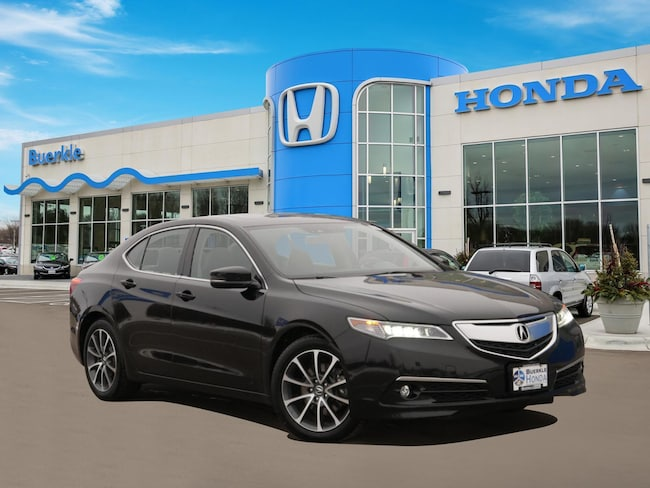 Used 2015 Acura TLX TLX 3.5 V-6 9-AT P-AWS with Technology Package Sedan For Sale Near Minneapolis