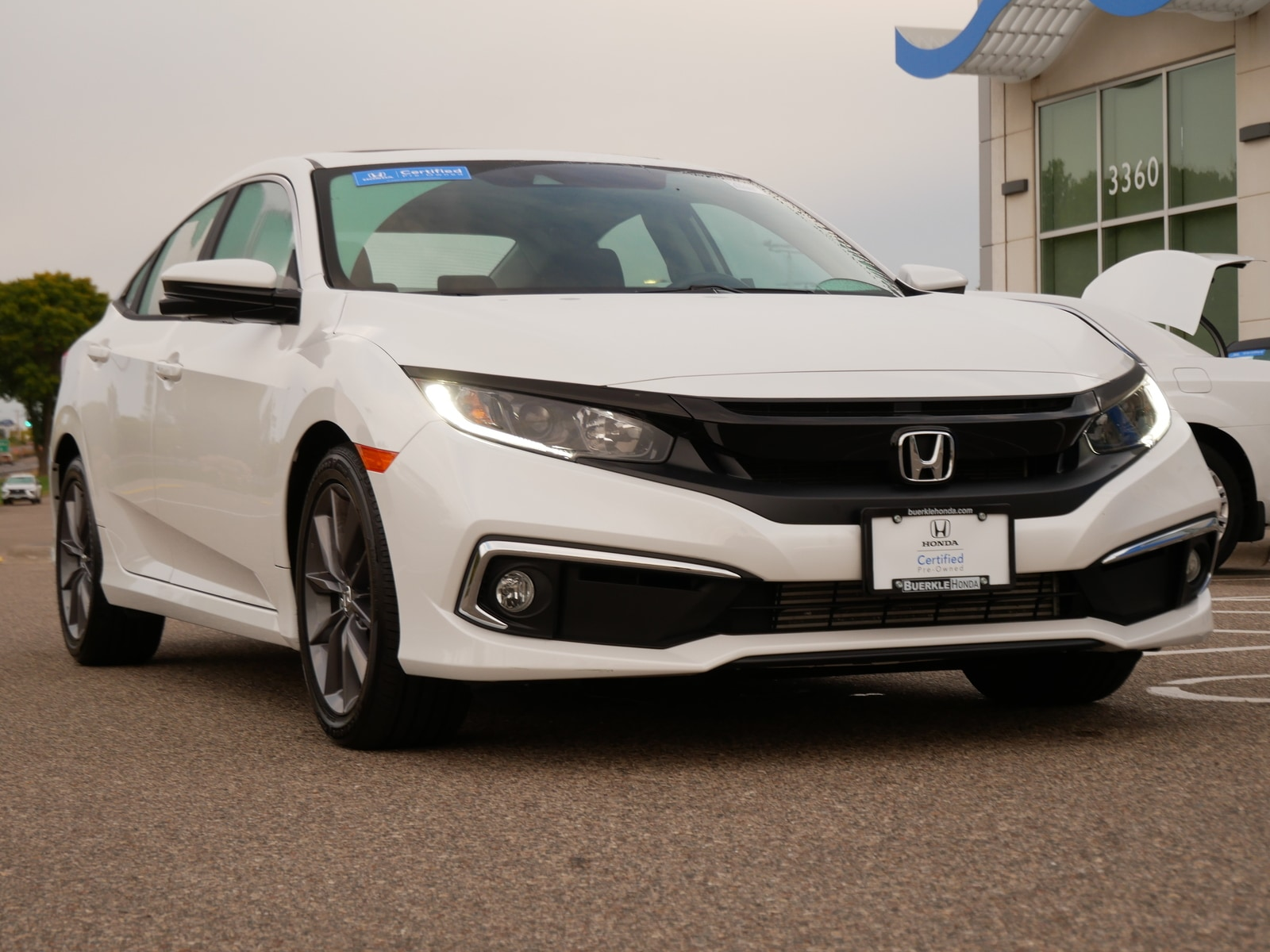 Used 2020 Honda Civic EX with VIN 19XFC1F38LE022011 for sale in Saint Paul, Minnesota