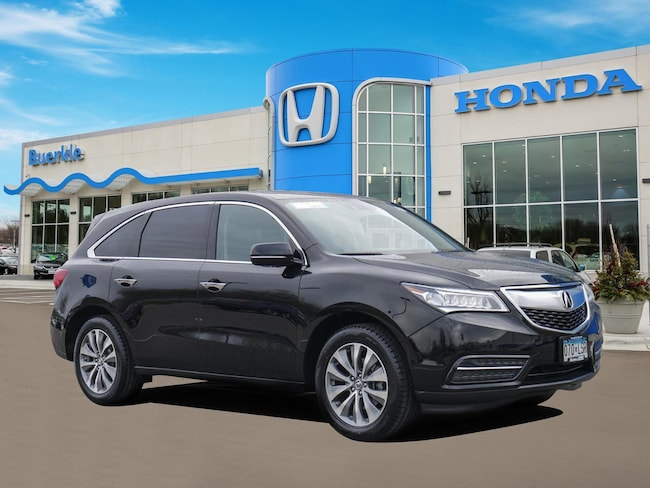 Used 2015 Acura MDX MDX SH-AWD with Technology Package SUV For Sale Near Minneapolis
