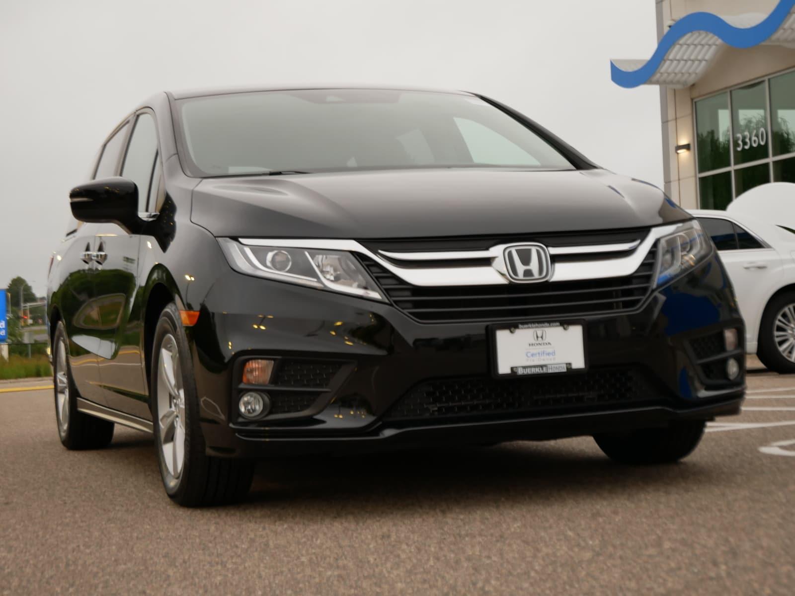 Certified 2019 Honda Odyssey EX with VIN 5FNRL6H51KB025124 for sale in Saint Paul, Minnesota