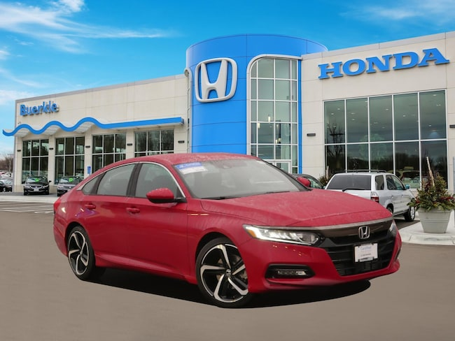 Certified Used 2018 Honda Accord Sport Sedan For Sale Near Minneapolis
