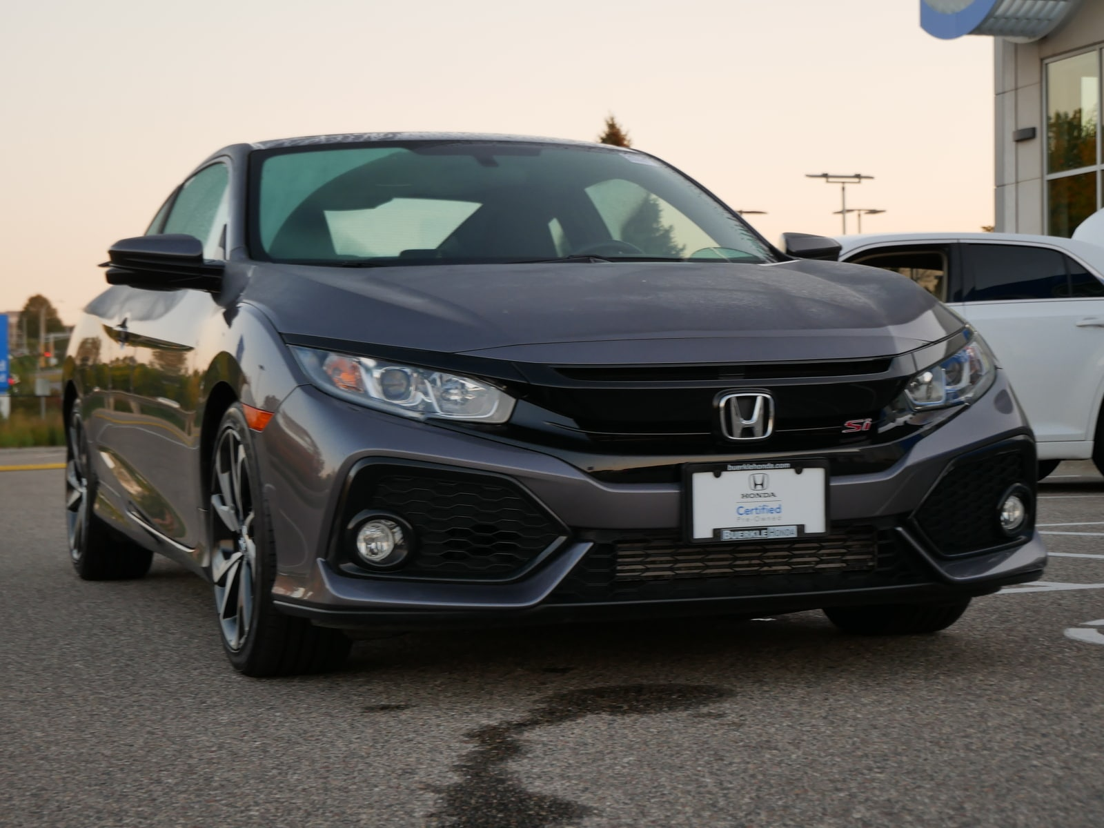 Certified 2019 Honda Civic Si with VIN 2HGFC3A58KH754017 for sale in Saint Paul, Minnesota