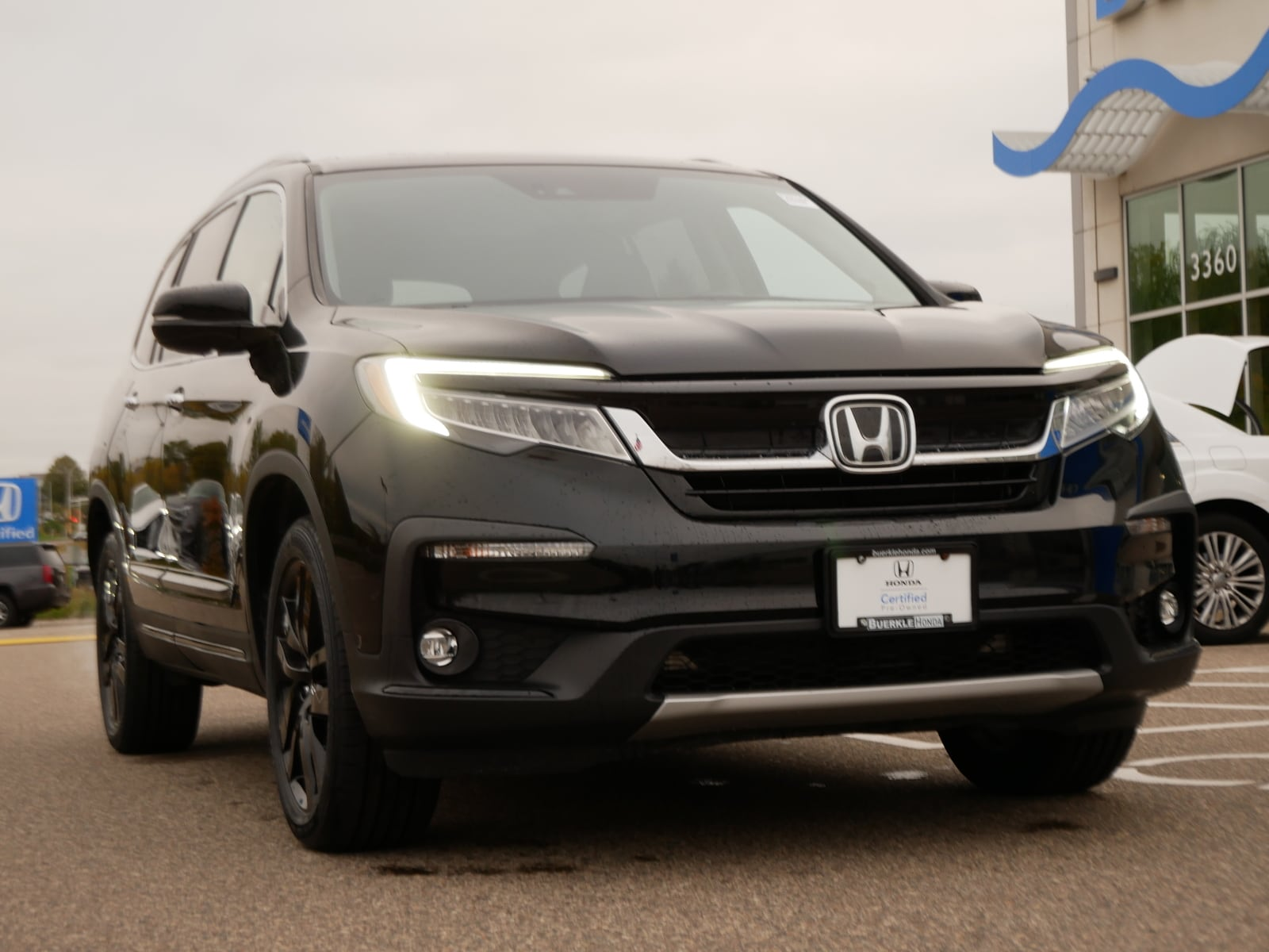 Certified 2019 Honda Pilot Elite with VIN 5FNYF6H05KB082000 for sale in Saint Paul, Minnesota