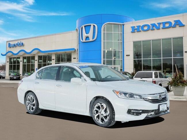 Certified Used 2016 Honda Accord EX-L Sedan For Sale Near Minneapolis