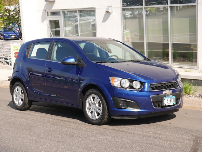 Used 2013 Chevrolet Sonic LT Manual Hatchback For Sale Near Minneapolis