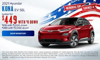 May 2021 Kona EV Special