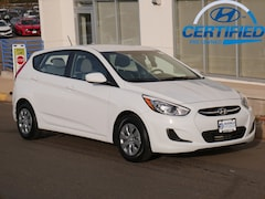 Certified Used 2017 Hyundai Accent Hatchback KMHCT5AE4HU356690 for Sale in St Pau, MN at Buerkle Hyundai