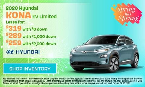 April 2020 Kona EV Special