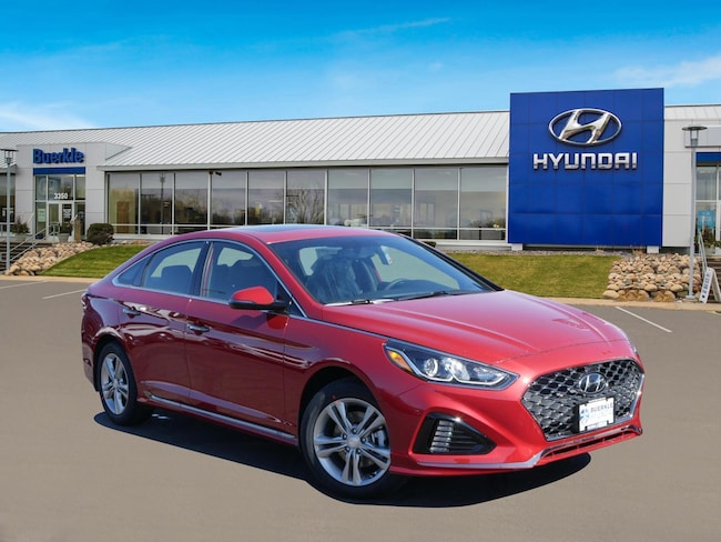 New 2019 Hyundai Sonata Sport Sedan For Sale Near Brooklyn Park