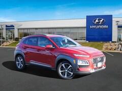 New 2021 Hyundai Kona Limited SUV KM8K3CA50MU606470 for sale in St Paul, MN at Buerkle Hyundai