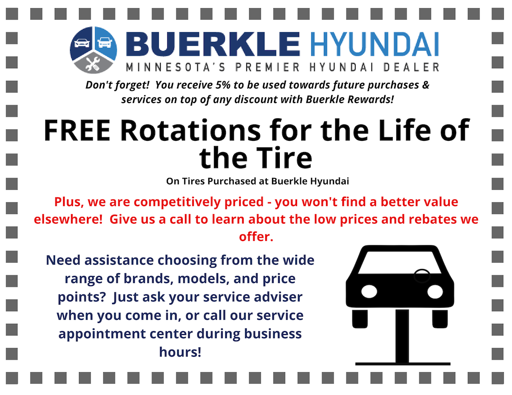 Buerkle Hyundai Car Parts Specials Coupons St Paul White Bear Lake