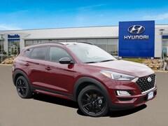 New 2019 Hyundai Tucson Night w/ULEV SUV KM8J3CAL7KU010182 for sale in St Paul, MN at Buerkle Hyundai