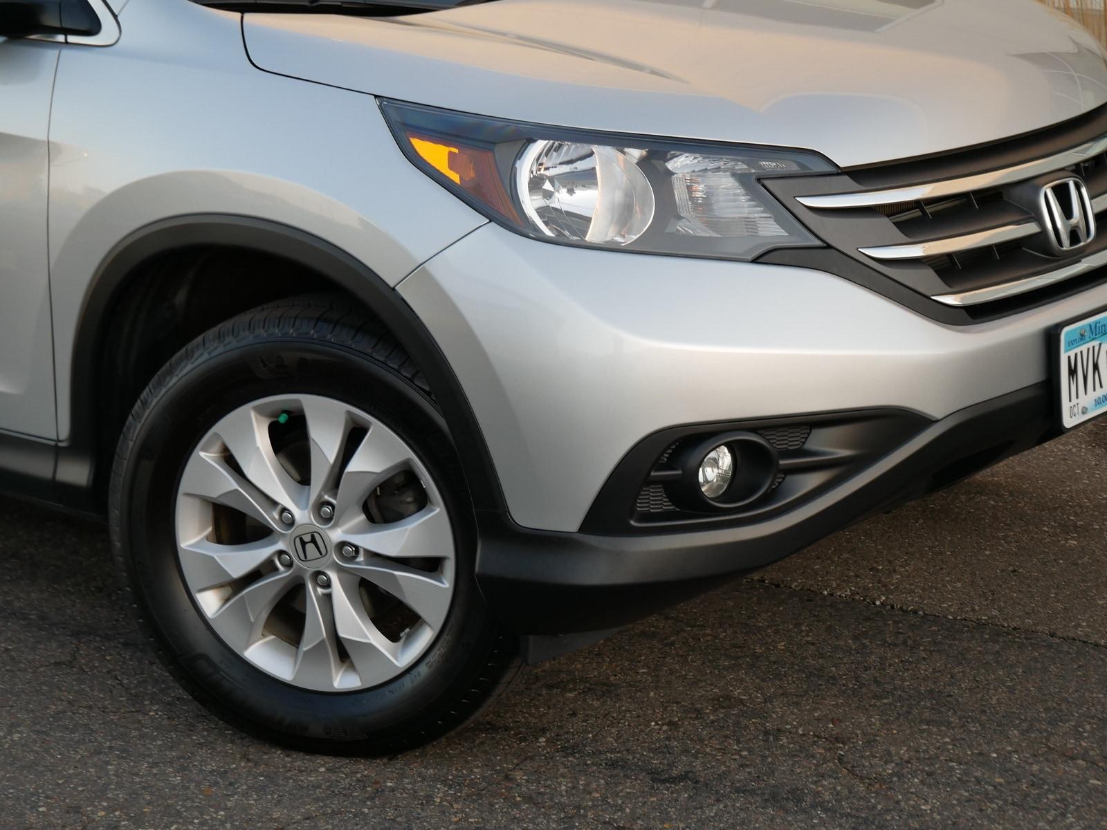 Used 2014 Honda CR-V EX-L with VIN 2HKRM4H71EH627160 for sale in Saint Paul, Minnesota