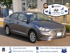 Certified Used 2019 Hyundai Accent Sedan 3KPC24A34KE079755 for Sale in St Pau, MN at Buerkle Hyundai