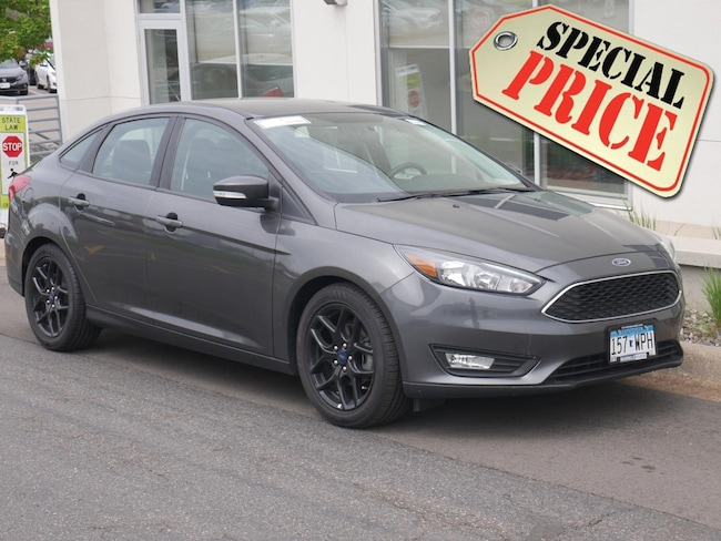 Used 2016 Ford Focus SE Sedan For Sale Near Minneapolis
