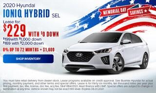 May 2021 Ioniq Hybrid Special