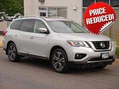 Used 2017 Nissan Pathfinder SUV 5N1DR2MM3HC609332 for sale in St Paul, MN at Buerkle Hyundai
