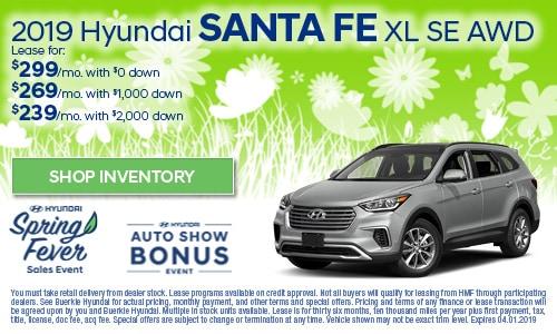 March | Hyundai Santa Fe XL