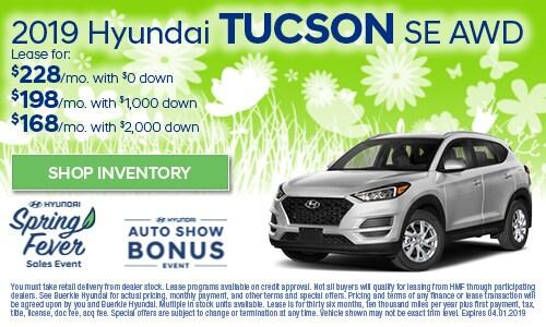 March | Hyundai Tucson