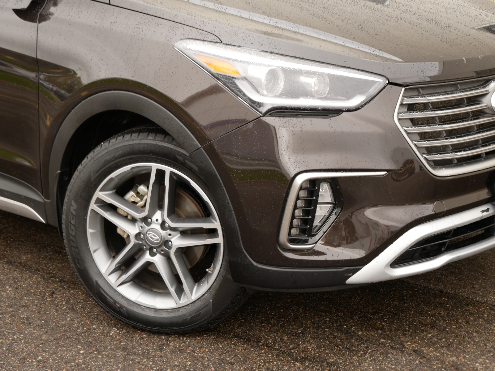 Certified 2019 Hyundai Santa Fe Limited Ultimate with VIN KM8SRDHFXKU303342 for sale in Saint Paul, Minnesota