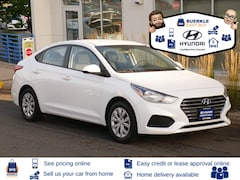 Certified Used 2019 Hyundai Accent Sedan 3KPC24A33KE045600 for Sale in St Pau, MN at Buerkle Hyundai