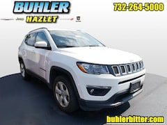 2018 Jeep Compass Latitude 4x4  CERTIFIED SUV 3C4NJDBBXJT103634 for sale in Monmouth County, NJ at Buhler Chrysler Jeep Dodge Ram
