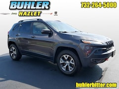 2014 Jeep Cherokee Trailhawk 4x4 SUV 1C4PJMBB7EW247103 for sale in Monmouth County, NJ at Buhler Chrysler Jeep Dodge Ram