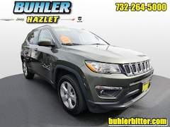 2018 Jeep Compass Latitude 4x4  certified SUV 3C4NJDBB7JT147624 for sale in Monmouth County, NJ at Buhler Chrysler Jeep Dodge Ram