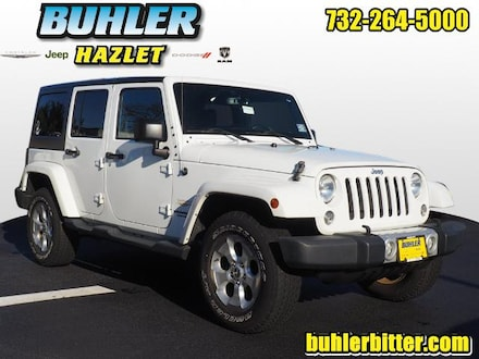 2015 Jeep Wrangler Unlimited Sahara 4x4  certified SUV