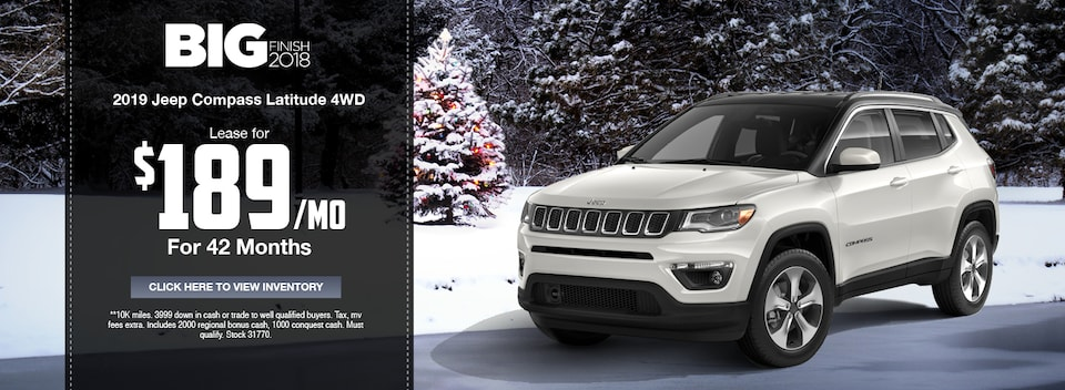 2019 Jeep Compass Latitude 4WD Special