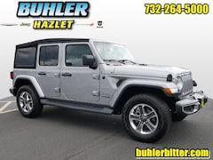 2018 Jeep Wrangler Unlimited Sahara 4x4 certified SUV 1C4HJXEG0JW156407 for sale in Monmouth County, NJ at Buhler Chrysler Jeep Dodge Ram