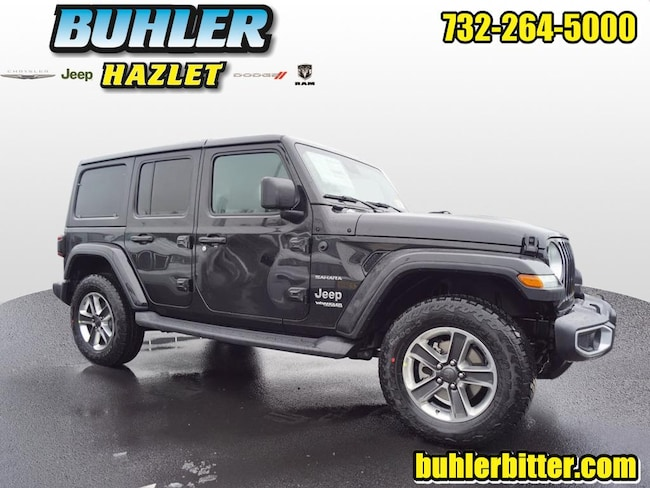 2019 Jeep Wrangler UNLIMITED SAHARA 4X4 Sport Utility for sale in Monmouth County at Buhler Chrysler Jeep Dodge Ram