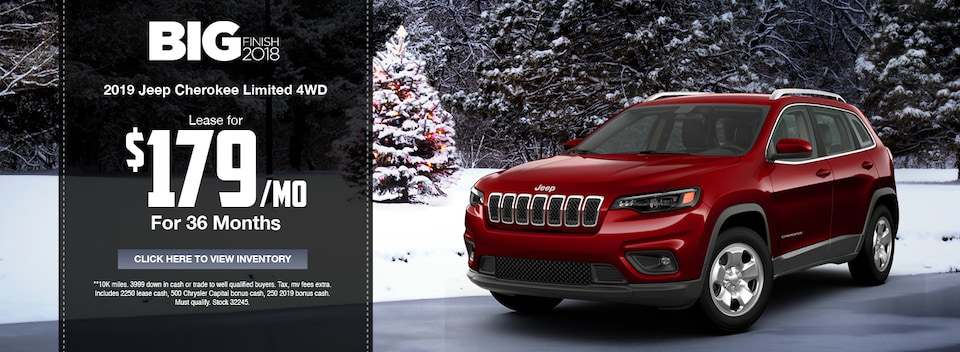 2019 Jeep Cherokee Limited 4WD Special